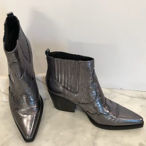 Sam Edelman Winona Boot Anthracite calf leather 😎